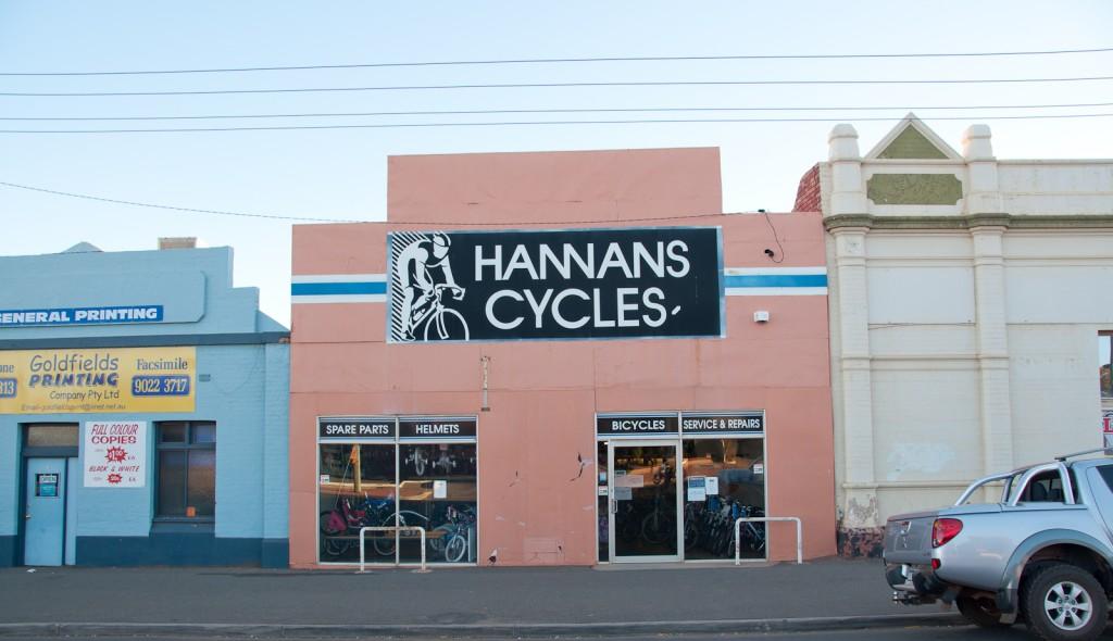 Hannan's Cycles, Kalgoorlie