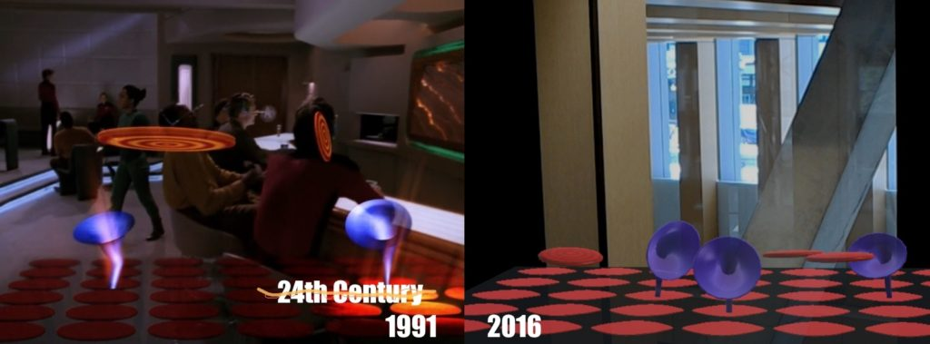 Star Trek TNG The Game: 1991 vs 2016